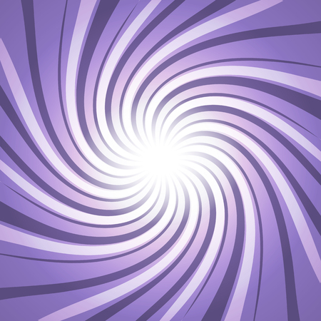 Twisted Ultra violet purple star burst abstract design background concept Ilustrace