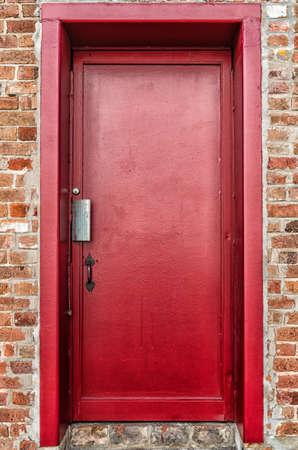 Red Steel Door-Edit