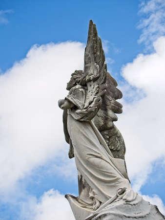 Angel on Top of Tomb 2New Orleans, LA USA - Jun 2, 2017  -