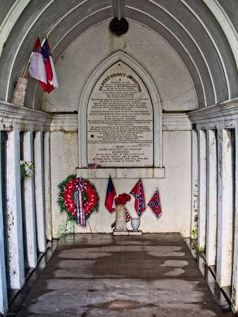 New Orleans, LA USA - Jun 2, 2017  -  Tomb of a Civil War General