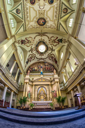 Altar of St. Louis Cathedral Editorial