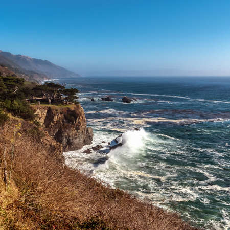 big sur: Big Sur Coast Stock Photo