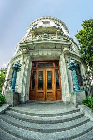Louisiana Supreme Court Building North Entrance Banco de Imagens - 82136817