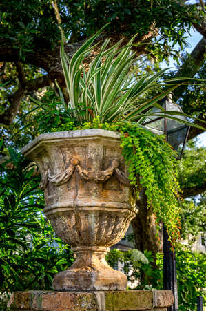 6-27-15 Location Unknown  -  Interesting old planter.