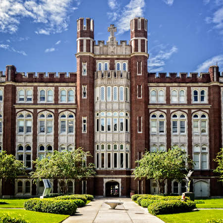 New Orleans, LA, USA -  Sep. 13, 2016  -  This is Marouette Hall located on the Loyola Univ. Campus