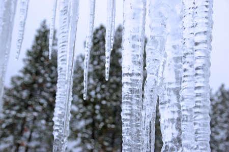 ciclos: Ciclos de hielo Foto de archivo