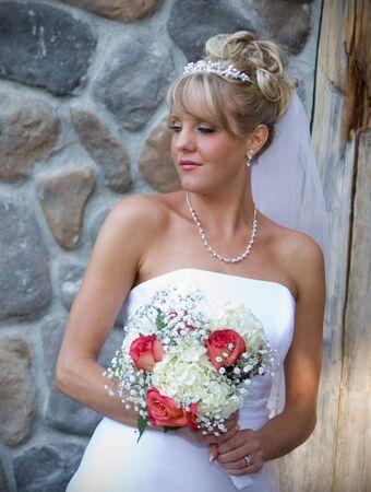 A beautiful bridal portrait. Stock Photo - 3588543