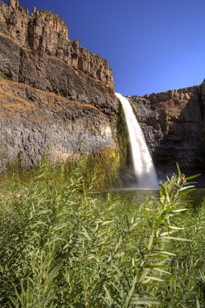 palouse: Palouse Falls. Stock Photo