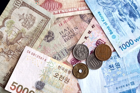 Asian money.