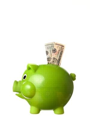 Saving money. Banque d'images