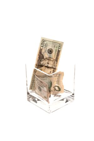 spare: Rising cost of tipping. Stock Photo