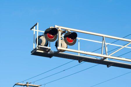 Crossing signal.