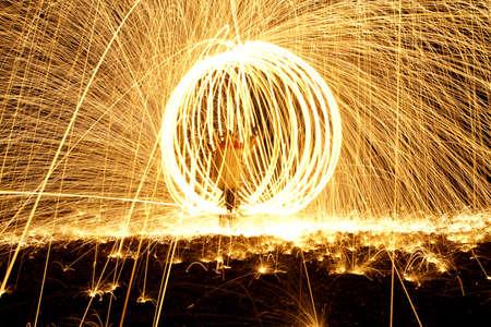 Inside a fireball