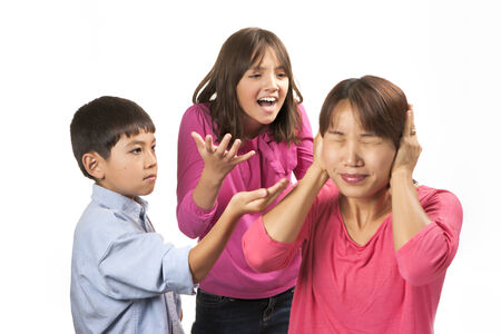 nagging: Shutting out nagging kids