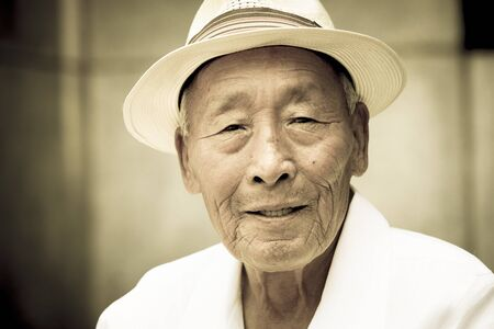 distinguished: Distinguished Korean gentleman. Editorial