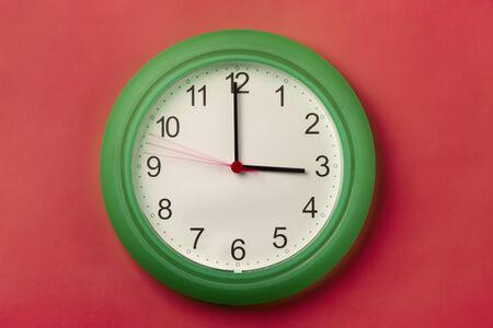 o'clock: Almost 3 OClock. Stock Photo