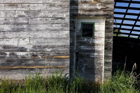 tensed: Old shed and door south of Tensed Idaho.