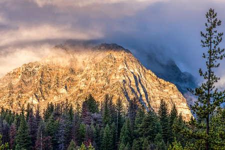 stanley: Williams Peak in Stanley, Idaho.