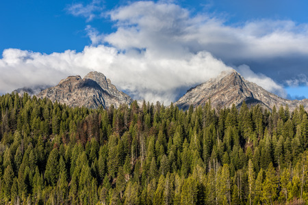 stanley: Williams Thompson Peak near Stanley, Idaho.