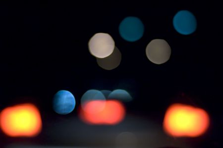 blurring: blurred vision driving at night