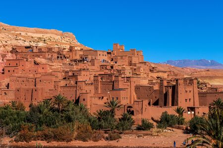 View on Ait ben Haddou, Morocco