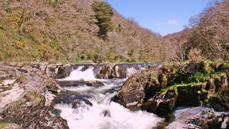 rapids: river flowing rapidly over rapids