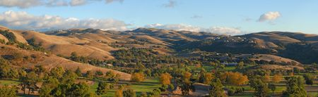 Autumn in the valley. California. Panorama  (#35) Stockfoto
