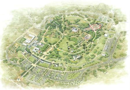 baron: Memorial Gardens in Israel - Mausoleum of Baron Rothschild