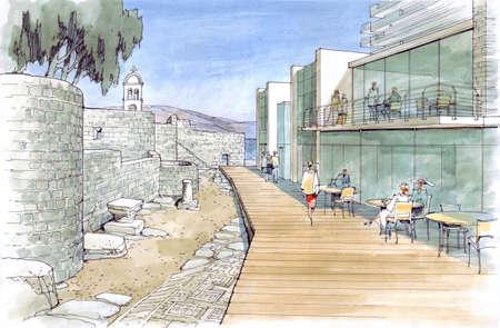 rivulet: architectural landscape