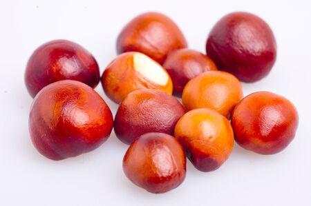 small chestnuts Stock Photo