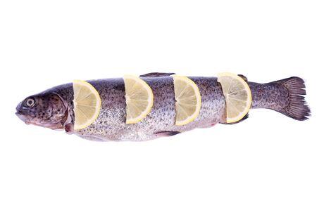 trout with lemon