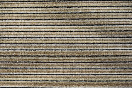 old textile in horizontal colored stripes