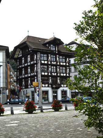old building in Lucerne Switzerland