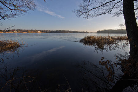 The shore of the lake
