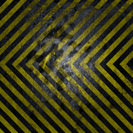 Grunge background, yellow and black stripes
