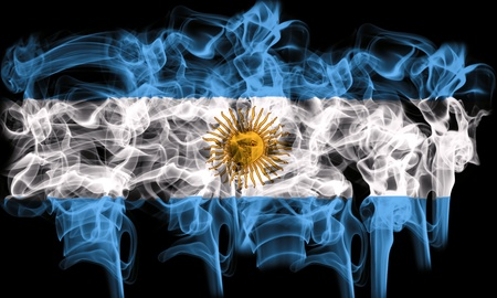 smoking flag of argentina