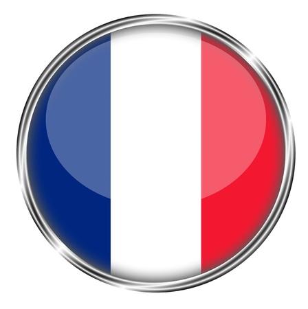 french flag: flag of france Stock Photo