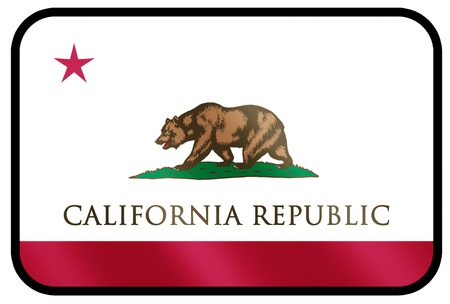 state government: flag of california