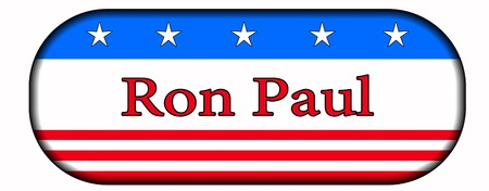 debate win: button ron paul 2012