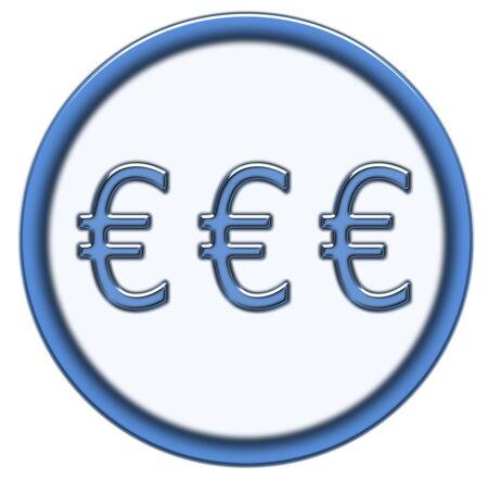 euro button photo