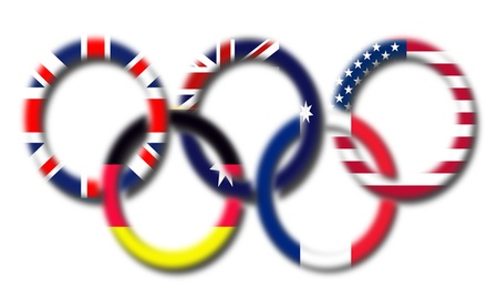 olympic game: Olympic Logo