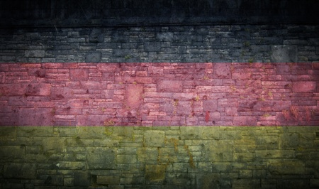 the national flag of germany Stock Photo
