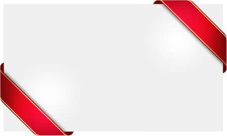 red ribbon card