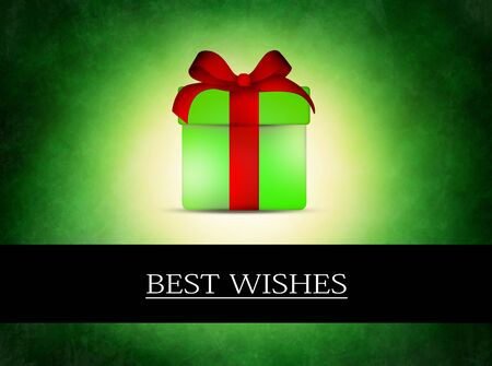 present with best wishes