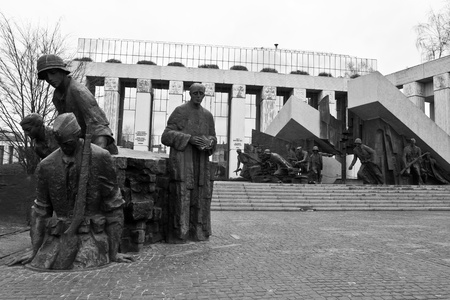 warsaw uprising monument Stock Photo - 11783847