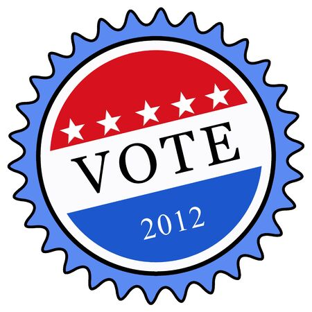 election vote button photo