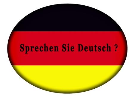 do you speak german Stock Photo