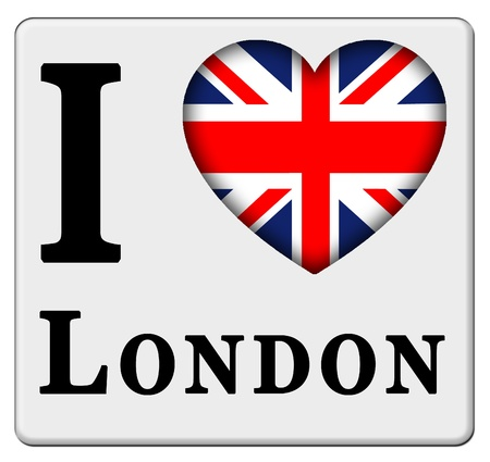 i love london Stock Photo - 12045483
