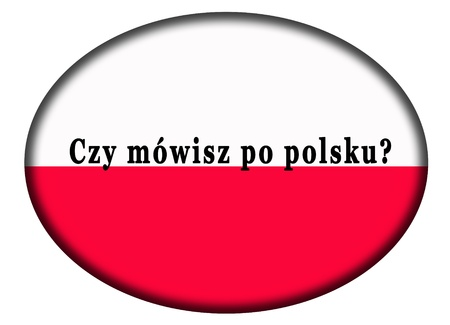 do you speak polish Stock Photo