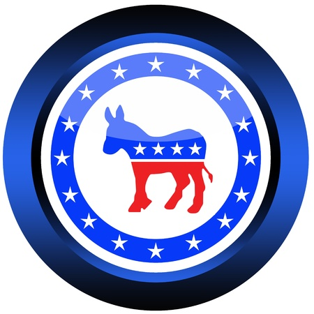 democratic: democratic button Editorial